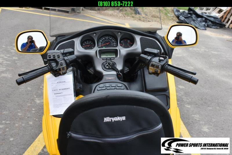 Nice!  2002 HONDA GL18002 GOLDWING MOTORCYCLE CRUISER Low Miles! #9012