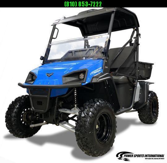 2021 American Land Master L5 EPS STANDARD BLUE POLY BED Utility Side-by-Side (UTV) #0930