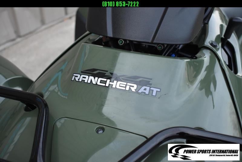 2013 HONDA TRX420FAD FT RNCHR AUTOMATIC TRANSMISSION ATV #0936
