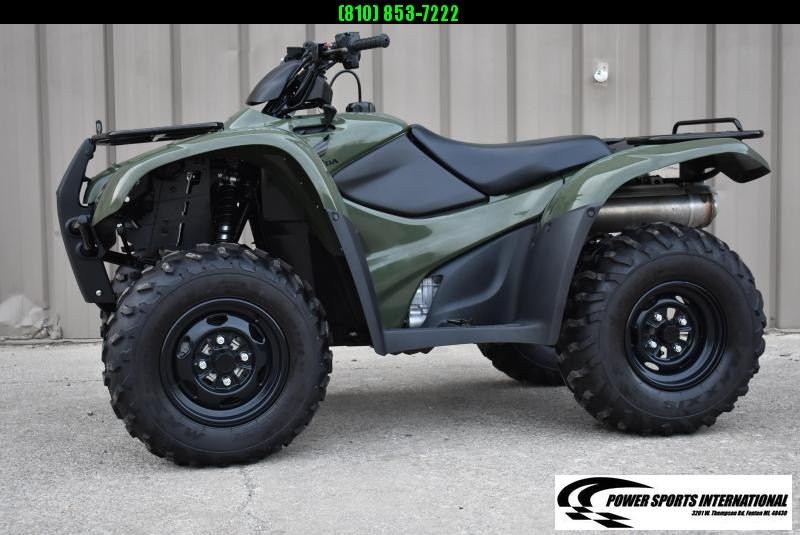 2013 HONDA TRX420FAD FT RNCHR AUTOMATIC TRANSMISSION ATV #0936