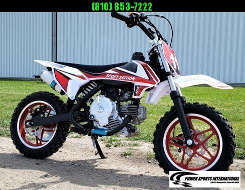 2021 VITACCI DB-S60 YOUTH Dirt Bike RED 4-Stroke MX Off Road Motorcycle DIRT BIKE New w/ Warranty
