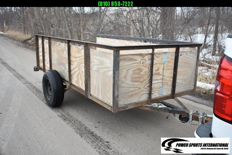 2005 5x10 Utility Trailer ATV Trailer w/ Ramp