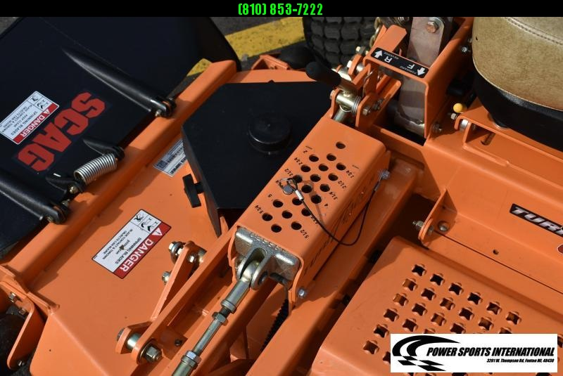 "2019 SCAG POWER EQUIPMENT 61"" TURF TIGER II STTII-61V-31DFI ZERO TURN LAWNMOWER LIKE NEW!"