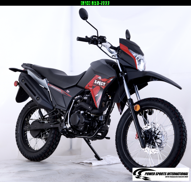 2020 X-PECT LIFAN 200CC DUAL SPORT DIRT BIKE MOTORCYCLE - LF200GY-4 - STREET LEGAL #0022