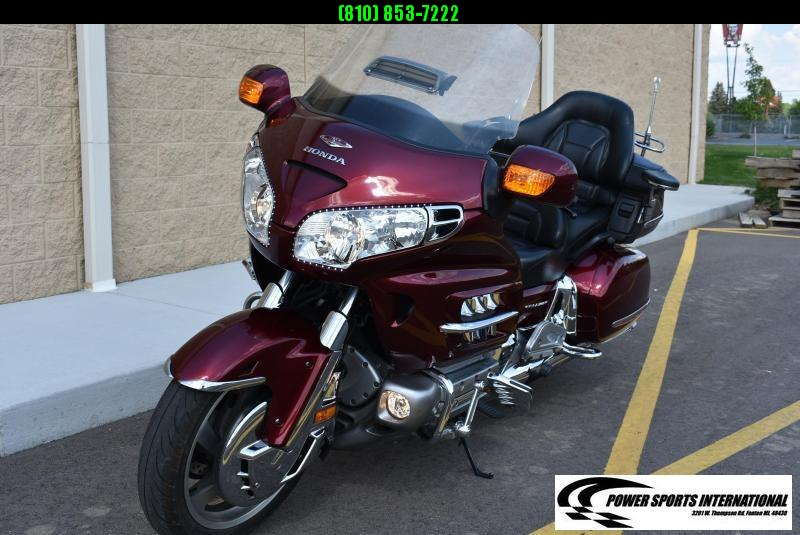 Nice! 2005 HONDA GL18005 GOLDWING MAROON MOTORCYCLE CRUISER TOP OF THE LINE! #9872