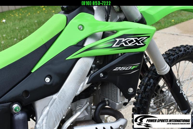 2016 KAWASAKI KX250ZGF 4-Stroke MX Motorcycle NICE!!!!   #3712