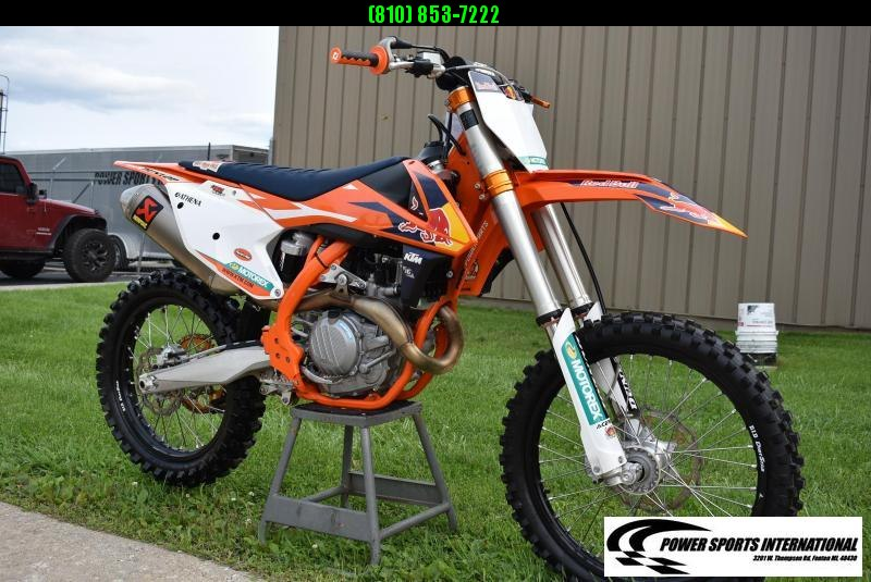 2017 KTM 450 SX-F FE FACTORY EDITION 4-Stroke MX Off Road Motorcycle #6438