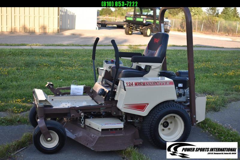 """2020 GRASSHOPPER 124V 48"""" ZERO TURN MOWER  LAWNMOWER LIKE NEW!"""