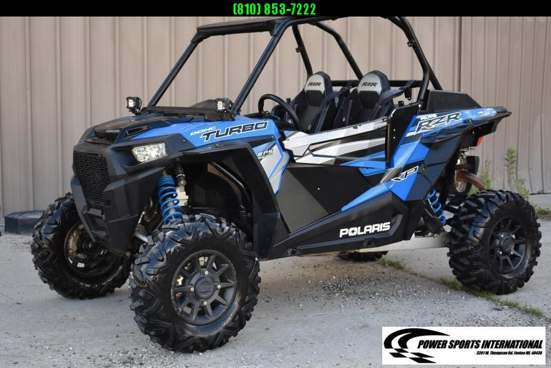 2018 POLARIS RZR XP TURBO (ELECTRIC POWER STEERING) 4X4 SXS #2370