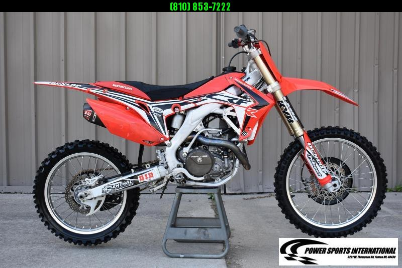 2013 HONDA CRF450RG CRF Motocross Bike MX Motorcycle #2840