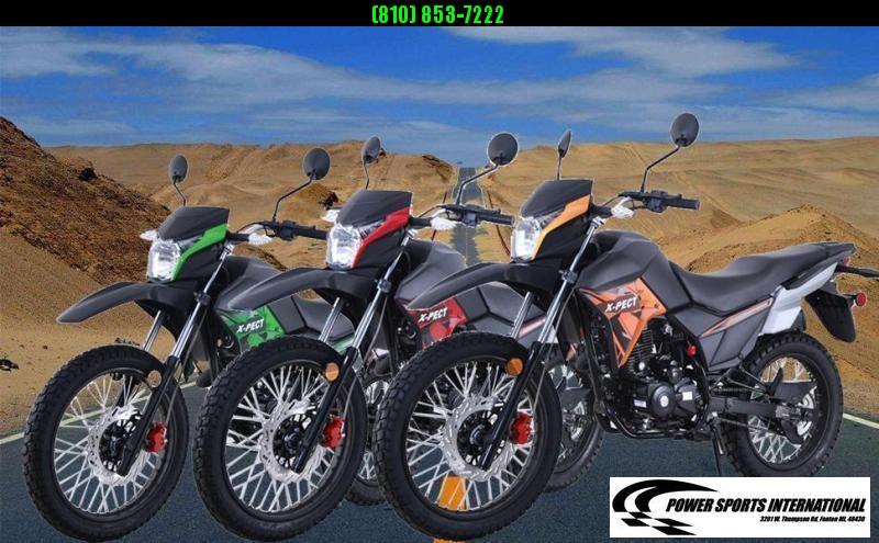 2020 X-PECT LIFAN 200CC DUAL SPORT DIRT BIKE MOTORCYCLE - LF200GY-4 - STREET LEGAL #0076