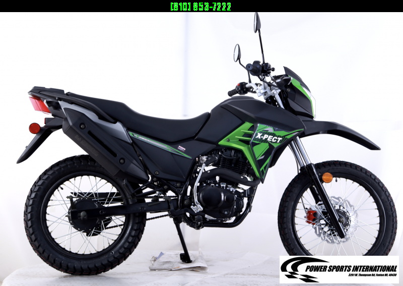 2020 X-PECT LIFAN 200CC DUAL SPORT DIRT BIKE MOTORCYCLE - LF200GY-4 - STREET LEGAL #0076