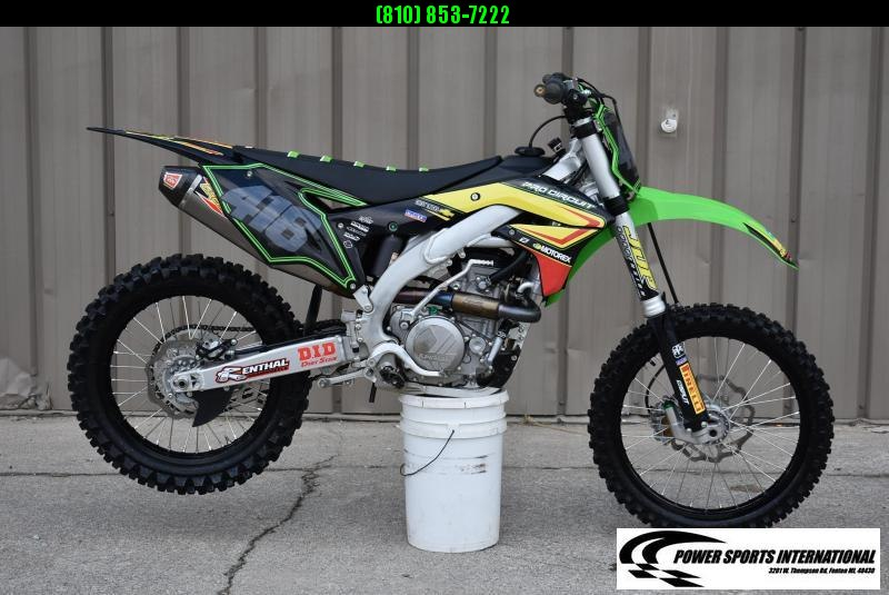 2017 KAWASAKI KX450HHF 4-Stroke MX Off Road Motorcycle #4878