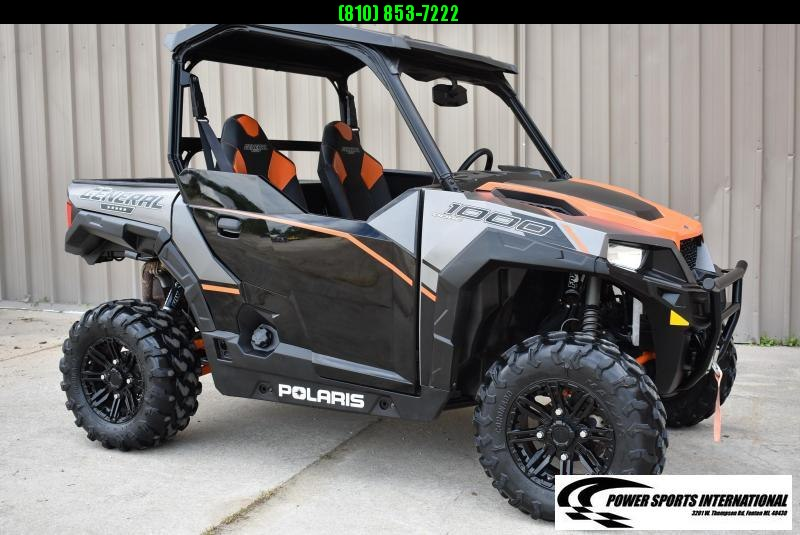 2017 POLARIS GENERAL 1000 EPS DELUXE ORANGE 4X4 Side by Side FOX SHOCKS #1324