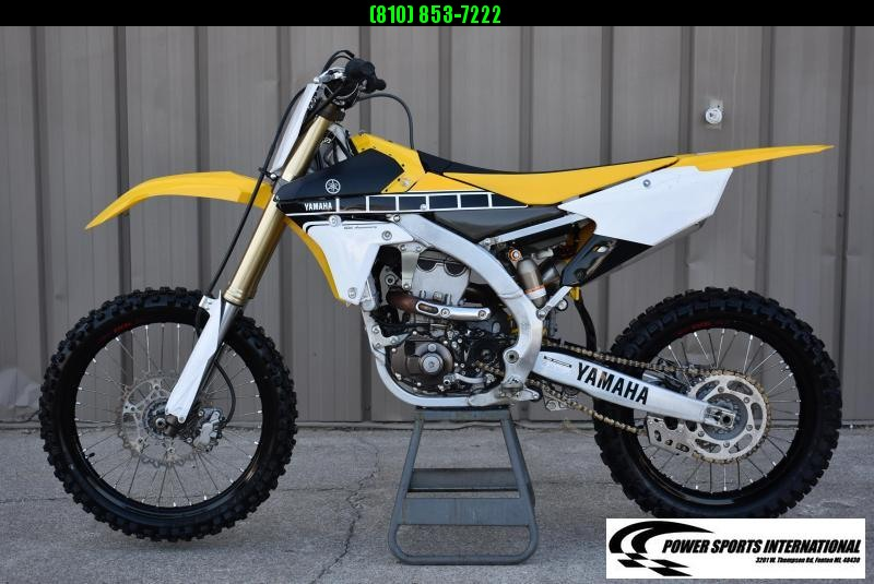 2016 Yamaha YZ450F 60th Anniversary Motorcycle Off Road MX #2876