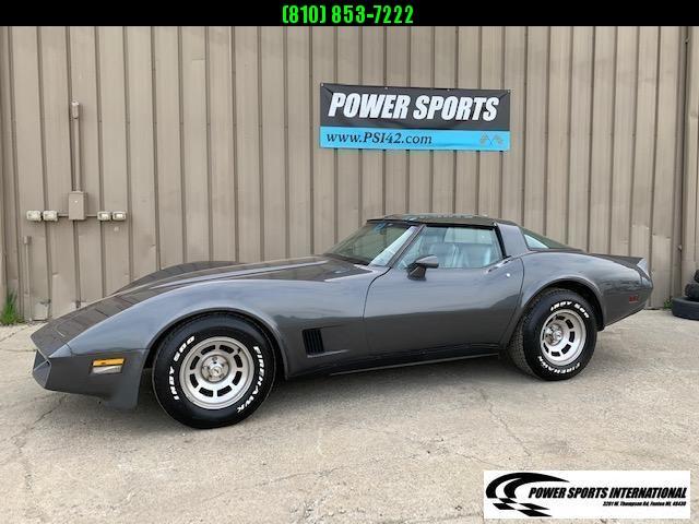 1981 Chevrolet Corvette Sports Car L81 350 C.I. Automatic Transmission T-Top