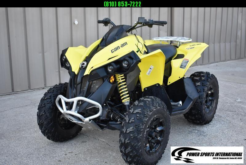 2020 CAN-AM RENEGADE 570 YELLOW 4X4 ATV  #0125
