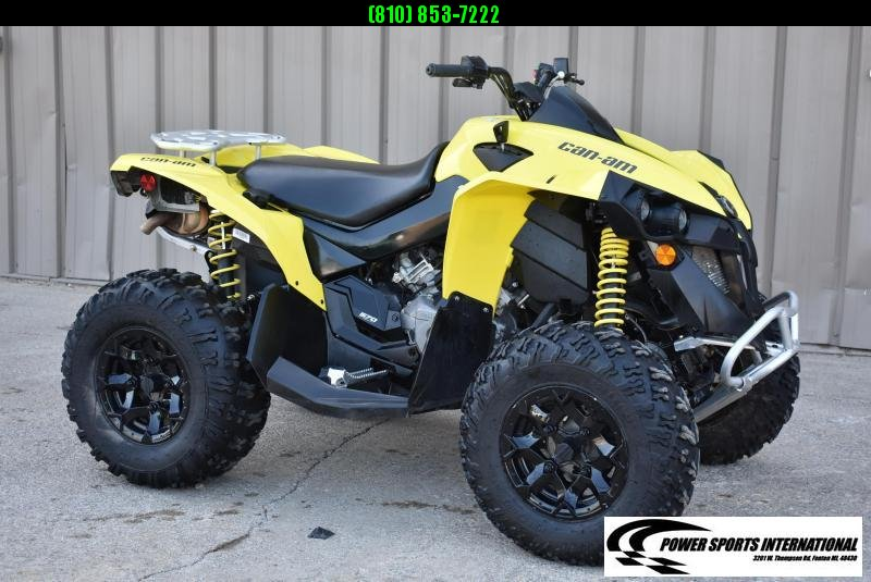 2020 CAN-AM RENEGADE 570 YELLOW 4X4 ATV  #0125