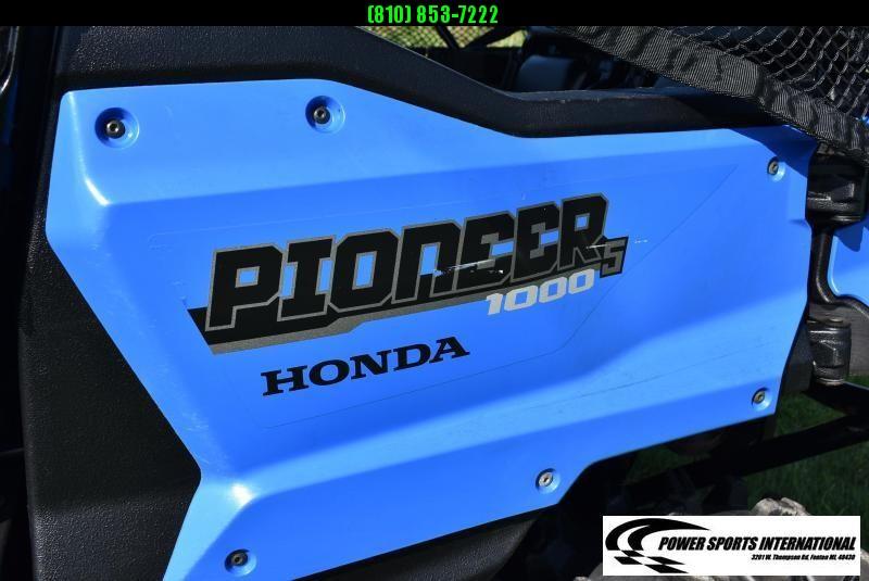 2017 HONDA SXS1000M5DH PIONEER 5 DELUXE UTV #1668