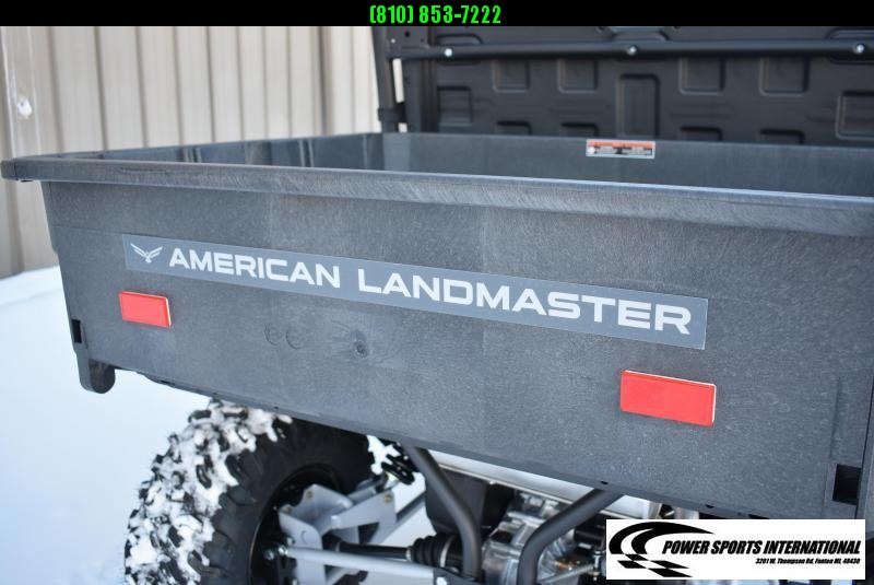 2021 American Land Master L7X 4-SEATER Red 4X4 Utility Side-by-Side (UTV) red #0073