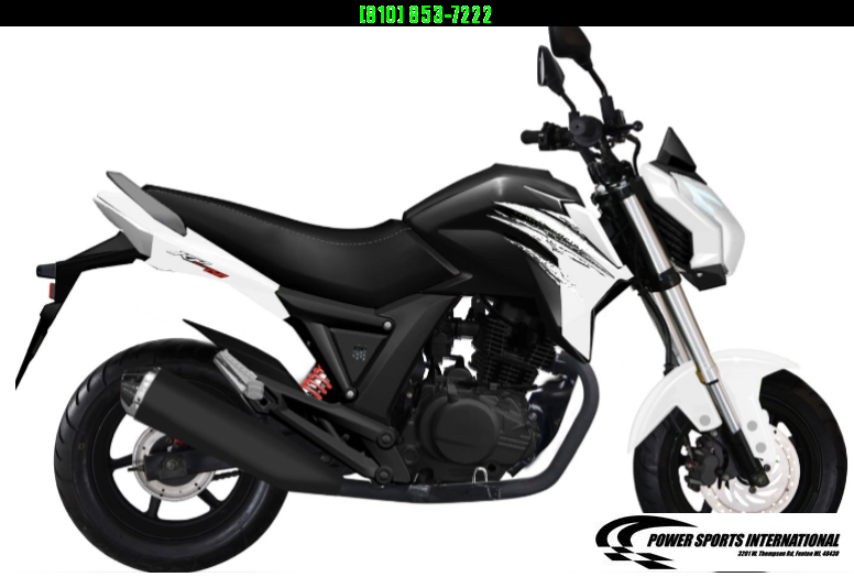 2021 LIFAN KP MINI 150 E-Start Motorcycle 60+mph GROM KILLER WHITE #0007