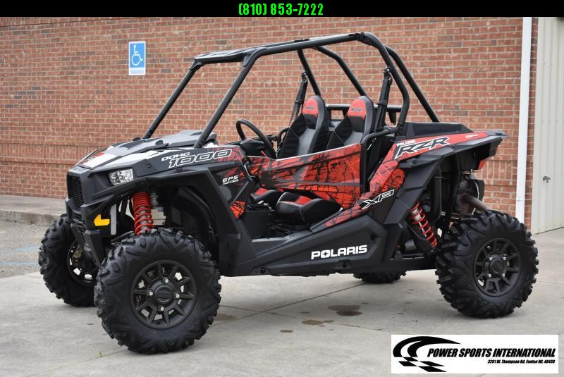 2018 POLARIS RZR XP 1000 (ELECTRIC POWER STEERING) SXS RED #7386