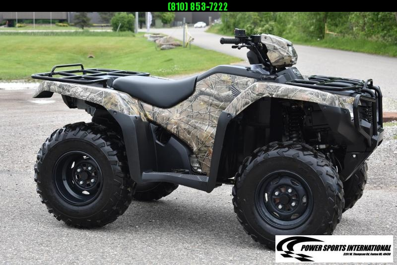 2017 HONDA TRX500FE2H FOURTRAX FOREMAN (4X4 ELECTRIC POWER STEERING CAMOUFLAGE) #0140