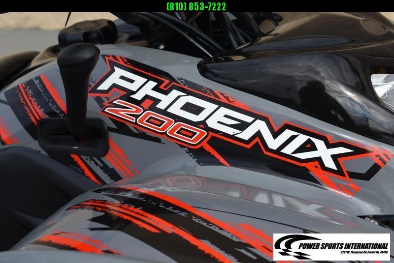 2018 POLARIS PHOENIX 200 YOUTH SPORT ATV  AUTOMATIC REVERSE NICE! #1796