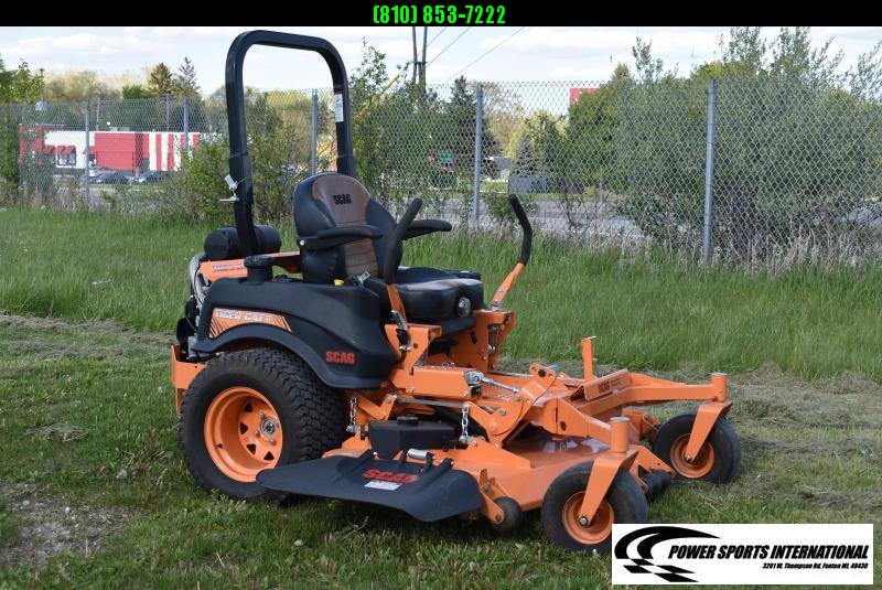 "2019 SCAG POWER EQUIPMENT 61"" ZERO TURN LAWNMOWER TIGERCAT II 2 HYDROSTATIC LIKE NEW!"