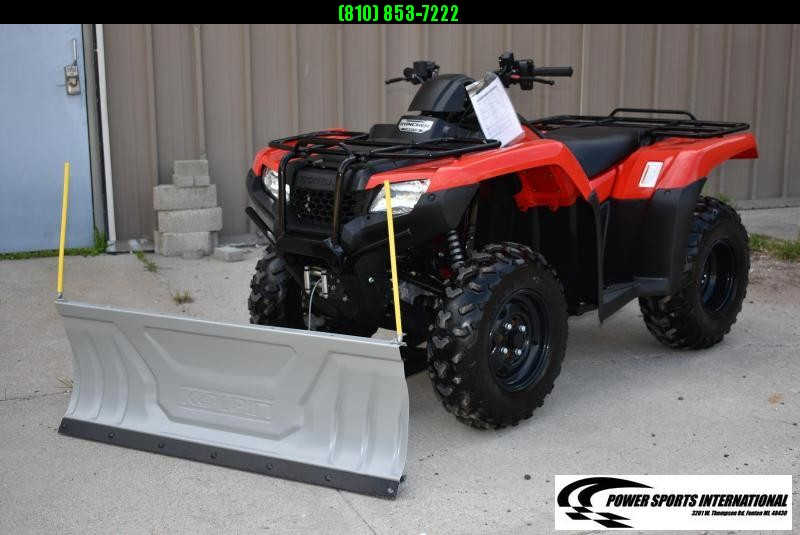 2017 HONDA TRX420FM1H FOURTRAX RANCHER (4X4) Electric Shift  #9899