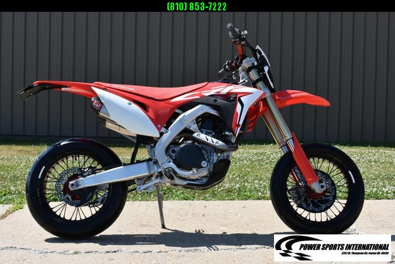 2017 HONDA CRF450RG CRF SUPERMOTO MOTORCYCLE Bike #0777
