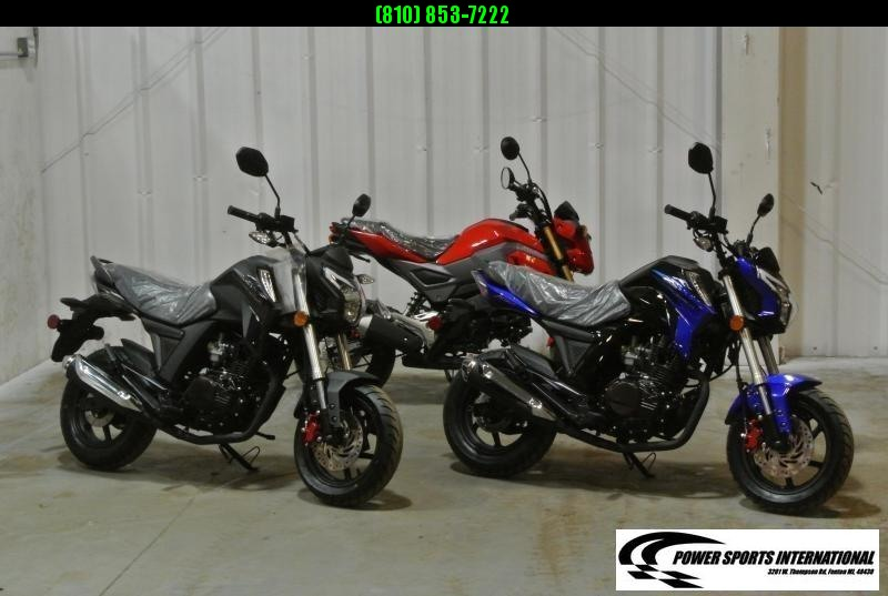 2021 LIFAN KP MINI 150 E-Start Motorcycle 60+mph GROM KILLER BLUE #0065