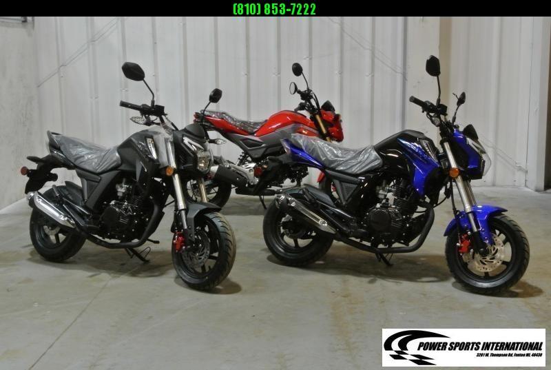 2021 LIFAN KP MINI 150 SS3 E-Start Motorcycle 60+mph GROM KILLER BLACK #0264
