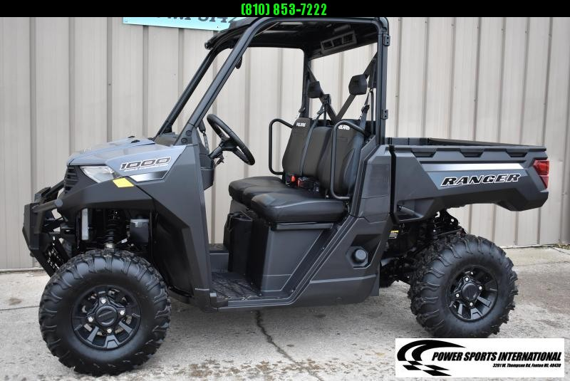 2021 POLARIS RANGER 1000 PREMIUM STEALTH GRAY (ELECTRIC POWER STEERING) #4322