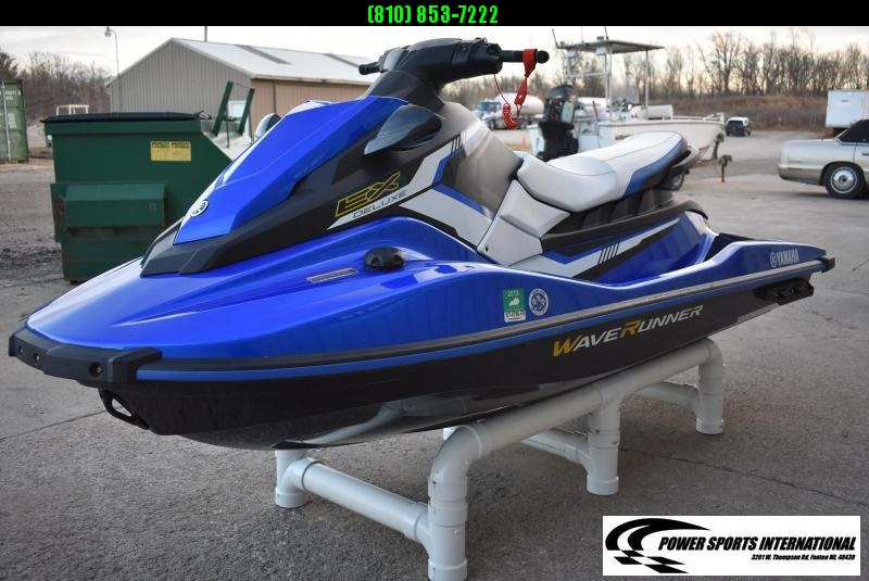 2017 YAMAHA WAVE RUNNER EX DELUXE PWC 3 Seater (Personal Watercraft) #K617