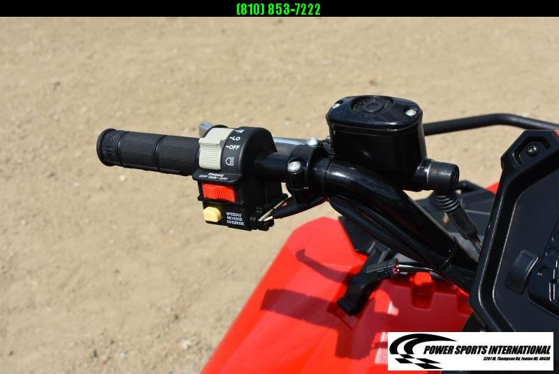 2020 POLARIS SPORTSMAN 850XP 4X4 FIRE ENGINE RED ATV #9957