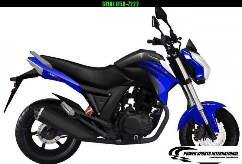 2021 LIFAN KP MINI 150 E-Start Motorcycle 60+mph GROM KILLER BLUE #0067