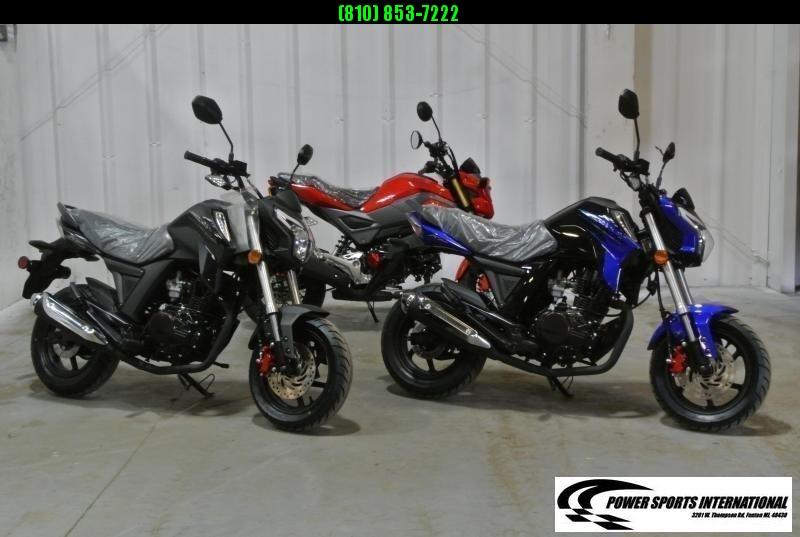 2021 LIFAN KP MINI 150 E-Start Motorcycle 60+mph GROM KILLER BLUE #0067