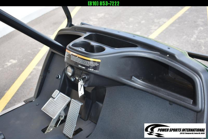 2015 YAMAHA ADVENTURER TWO GAS GOLF CART GAS POWERED HUNTER GREEN w/ Extras! #0514