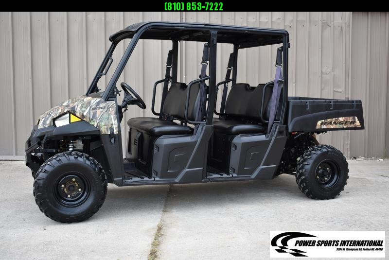 2018 POLARIS RANGER CREW 570 4-Seater CAMO FULL-SIZE UTV SIDE BY SIDE #0735