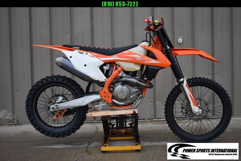 2018 KTM 450 XC F 4 Stroke Off Road Motorcycle 2160