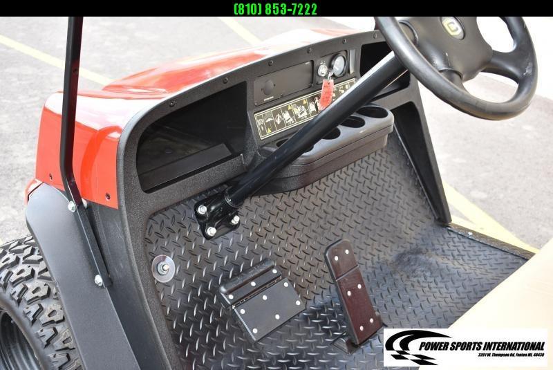 2014 EZ GO GOLF CART CUSHMAN HAULER 1200XG GAS GOLF CART GAS POWERED RED w/ Extras! #1959