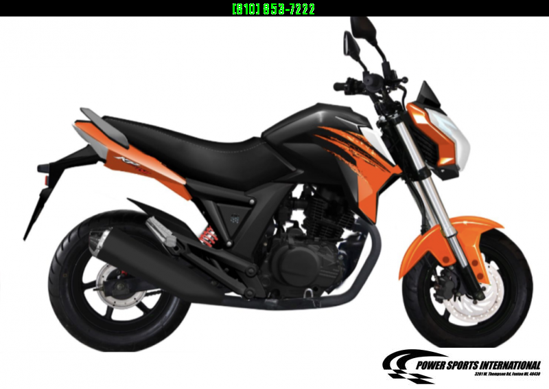 2021 LIFAN KP MINI 150 E-Start Motorcycle 60+mph GROM KILLER ORANGE #0103