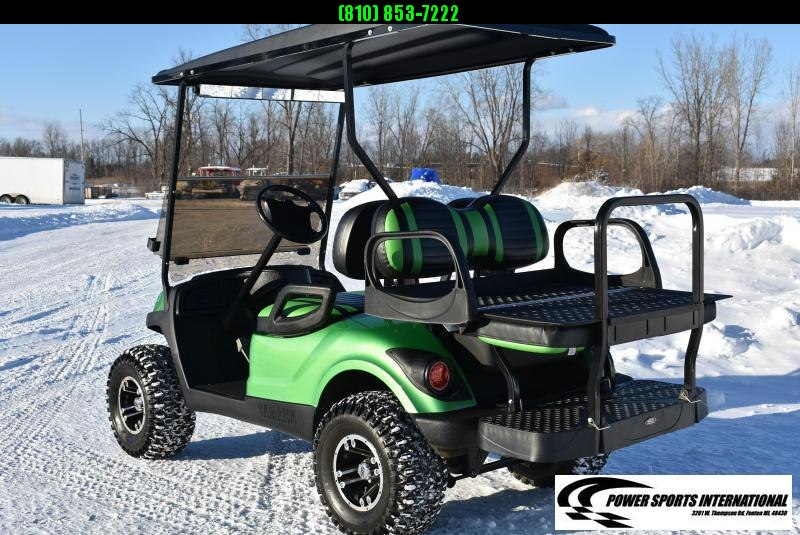 CUSTOM Yamaha Drive YDRE Electric 48V Golf Cart Full Body Kit KAWASAKI GREEN #7640