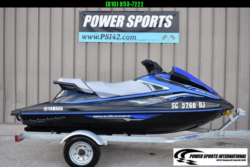 2018 Yamaha VX DELUXE PWC 3 Seater (Personal Watercraft) w/ Trailer Only 33 Hrs #F818