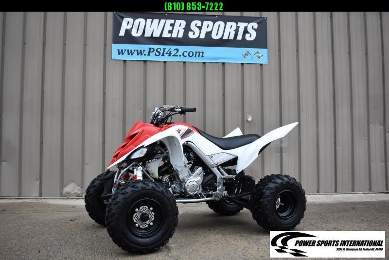 Left Over 2011 Yamaha Raptor 700R Red and White Team Edition Sport ATV Quad #5999