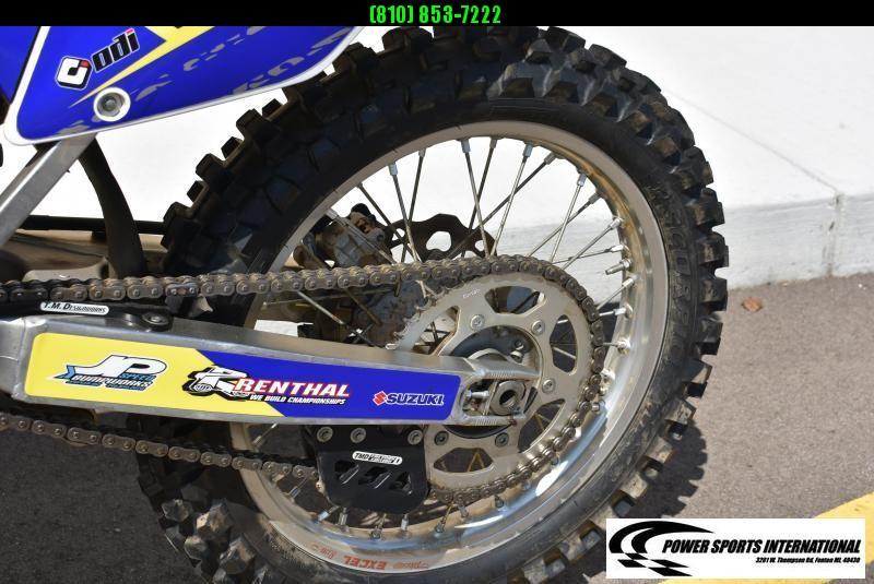 2015 SUZUKI RMZ 450 PSI FACTORY EDITION 4-Stroke MX Off Road Motorcycle #0466