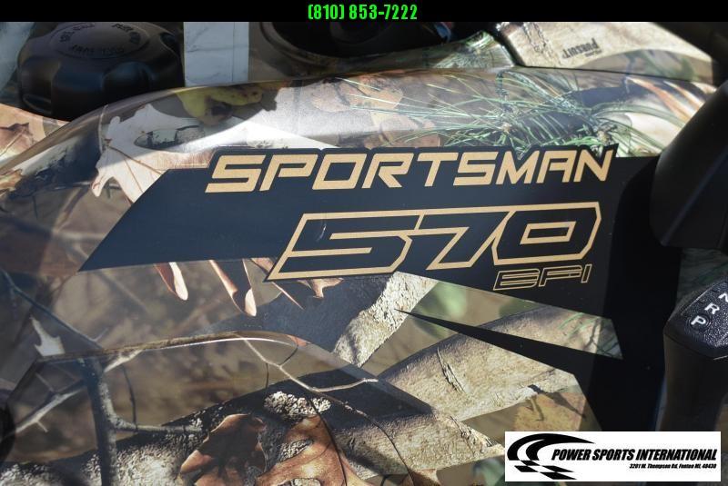 2018 POLARIS SPORTSMAN 570 EPS CAMOUFLAGE 4X4 HUNTER CAMO ATV #8878