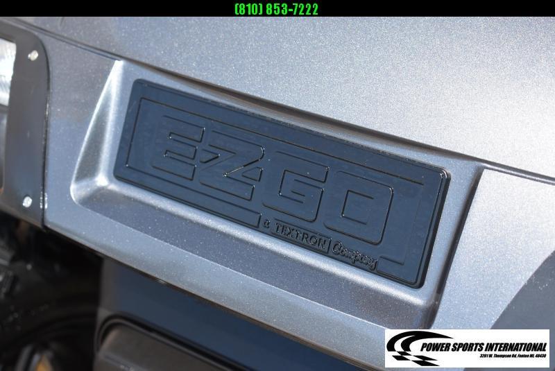 CUSTOM 2011 EZGO GOLF CART TXT GAS POWERED METALLIC SILVER w/ Thousands in Extras! #9542