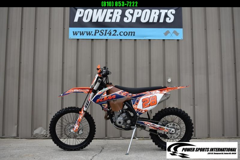 2017 KTM 350 XC-F 4-Stroke MX Off Road Motorcycle #7795